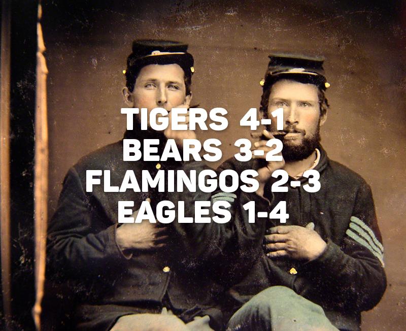Game 5: Civil War Beer Pong 7/10/15